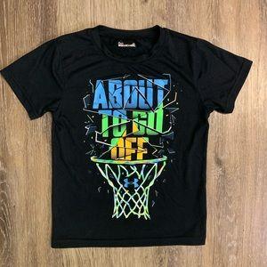 Boys Under Armour Basketball Shirt
